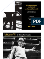 Modulo VI - El Ultimo Planificador