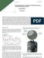 A Comparison of the Fatigue Calculation Process