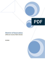 JCPS - District of Innovation - Application Package