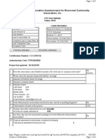 River Crest Comm Assn - Estoppel Certificate