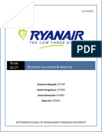 Ryanair Analysis & Valuation