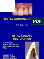 Metal Ceramic Restoration