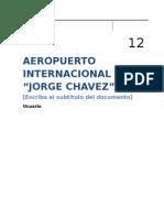 Monografia Aeropuerto Internacional Jorge Chavez Original