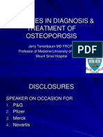 Advances in Diagnosis and Treatment of Osteoporosis