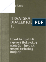 Josip Lisac - Hrvatska Dijalektologija 1 - Stokavsko i Torlacko Narjecje