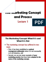 Maketing Concepts n Process