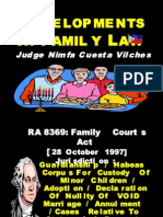 Developments in Family Law1-b- Justice Vilches