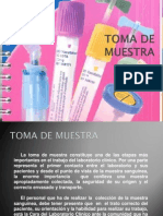TOMADEMUESTRA Preventive Care