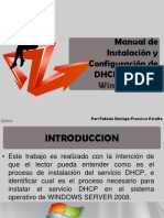 Manual DHCP