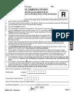 AIEEE-2011 Paper Solutions Final CLARC