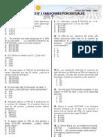 Unidad 5 Variaciones Porcentuales