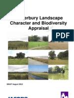 2012-08 Canterbury Landscape Character Biodiversity Appraisal Draft
