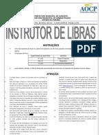 Caderno de Questoes Instrutor de Libras