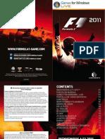 Manual F1 2011