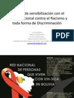Necesidades de Personas Con El VIH. Reunion Con El Comite Nacional Contra El Racismo y Toda Forma de Discriminacion