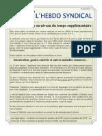 33. l'Hebdo Syndical 8 Mai 2013