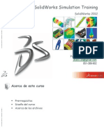 SolidWorks Simulation Training 2012 - Leccion 1