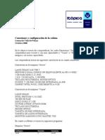 Conexiones y Configuracion de La Cabina