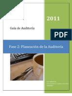 GUÍA DE AUDITORÍA - PLANEACIÓN DE LA AUDITORÍA Mayo 2011