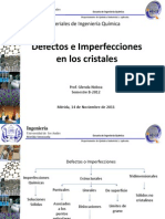 Defectos e Imperfecciones