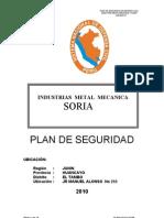Plan de Seguridad Empresa de Transportes California Sr Soria Gumercindo