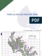 """La Paz Sin Riesgos """"EPSAS"""""""