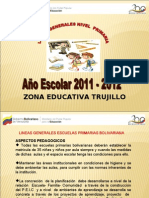 lineas generales Nivel Primarias Bolivarianas año 2011-2012.ppt