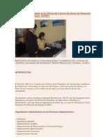 Informe de Actividades de La Oficina de Control de Areas de Reservas Territorialesdel Estado