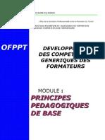 81839266 14251329 Module 1 Principes Pedagogiques de Base