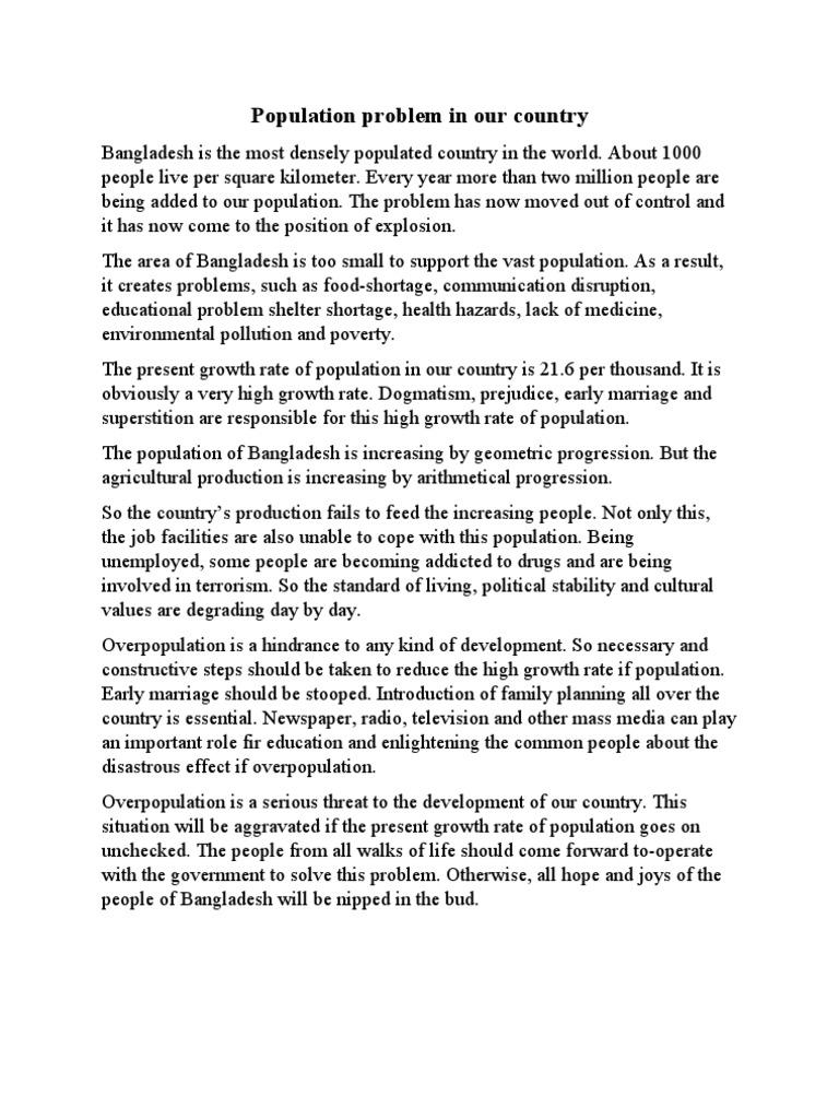 Short Essays In English World Population Problems Ap English Essays also English Short Essays Our Population Essay English As A World Language Essay