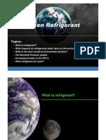 Trane 3 Green Refrigerant