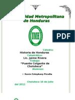 Historia de Honduras Puente de Choluteca