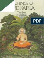 Teachings of Lord Kapila the Son of Devahuti