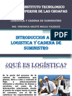 Introduccion a La Logistica y Cadena de Suministro.