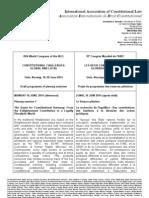 IACL Oslo Draft Plenary Programme 12 February 2013 Hp