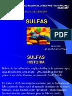 4.- SULFAS y Anticepticos Urinarios