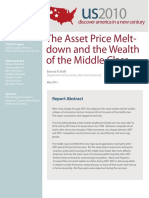 The Asset Price Meltdown and the Wealth