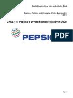Case Analysis PepsiCo