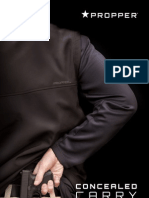 2013 PROPPER Concealed Carry Product Guide