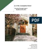 St. Mary of the Assumption School Handbook