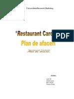 Plan de Afaceri - Restaurant Cardinal