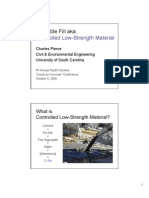 CLSM or Flowable Fill