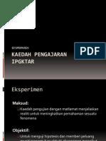 KAEDAH PENGAJARAN-eksperimen