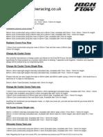 Aluminium / Aluminum Radiator Cores