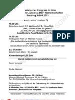 Eucharistischer Kongress in KÖLN  Anmeldung zum Wallfahrtstag am Sa. 8.06.2013  Thomas Morus Kreis und Pro Missa Tridentina, MAINZ.pdf