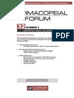 Pharmacopieal Forum Vol32No2