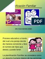 A Planificación familiar y MAC 2012