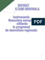 Dezvoltarea regionala- REFERAT 1