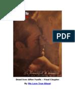 Dead Ever After Fanfic - Final Alternativo