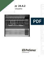 StudioLive24.4.2 OwnersManual ES